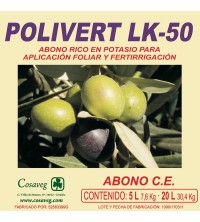 POLIVERT LK 50% (POTASA) (20 Litros)