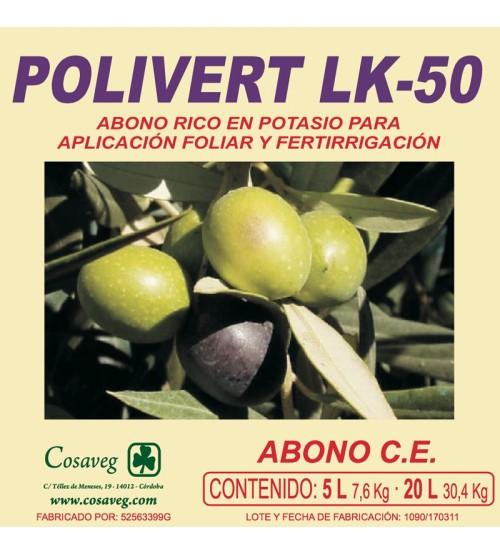 POLIVERT LK 50% (POTASA) (20 Litros)